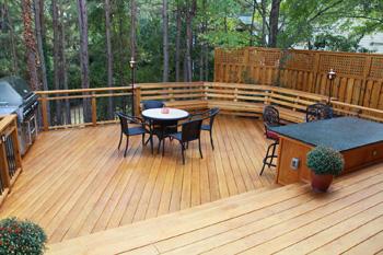 Wood Decks Best Pressure Treated Wood Decks